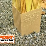 6x6 Post with Post Protector