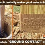 Improve GROUND CONTACT post decay resistence II