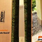 Post Protector 30 inch Grade Guard Post Decay Protection Deck