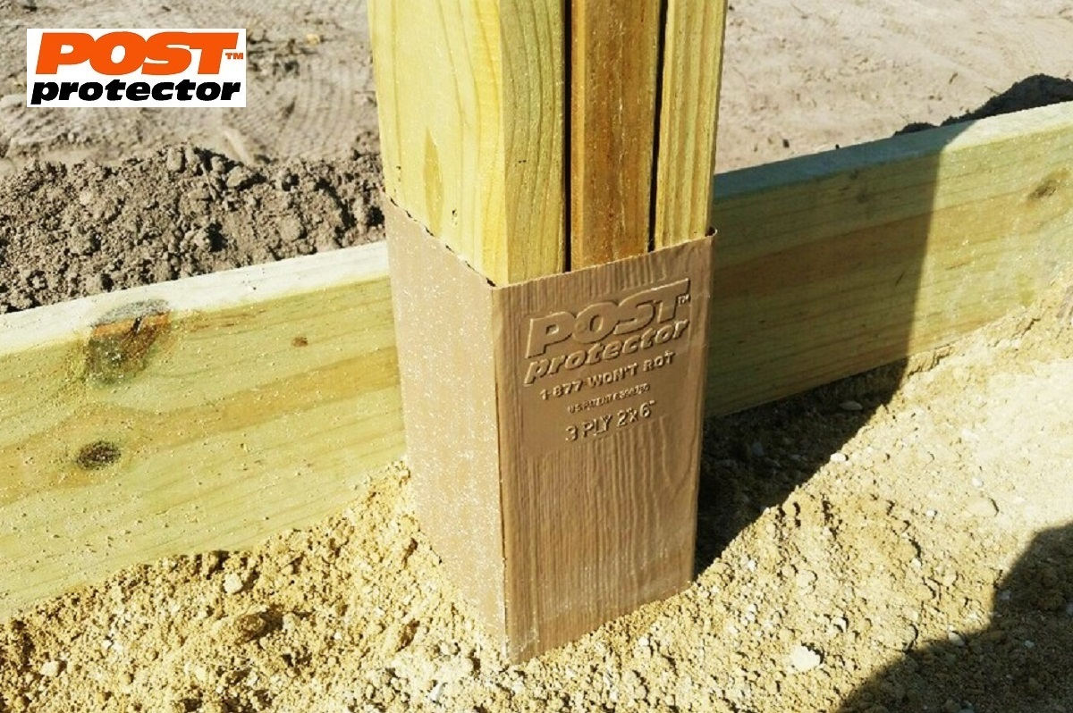 Post sleeves for pole barns lose the ground contact for How to treat barn wood for bugs