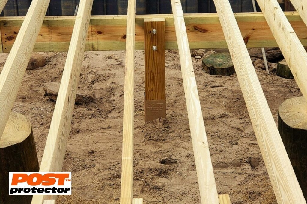 post protector for 6x6 deck posts
