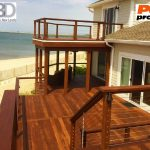 6x6 Deck Posts with Post Protector First State I
