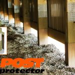 Post Protector 30 inch Grade Guard Post Decay Protection Pole Barn
