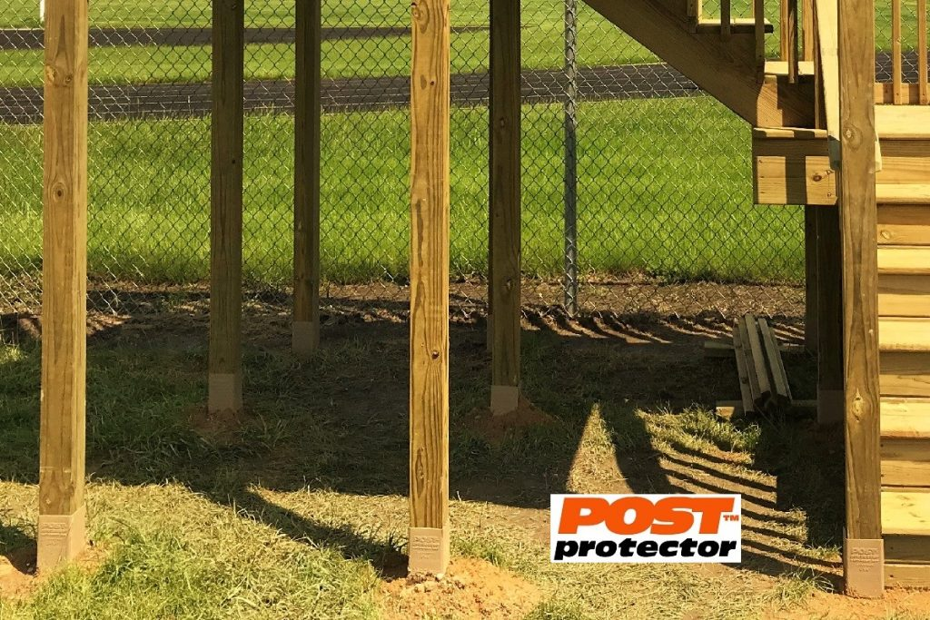 Post Protector for 4x4 pressure treated post