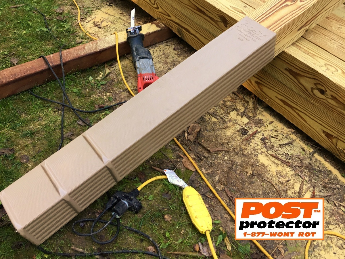Post Sleeves  6×6 Deck Posts  Lose the Ground Contact!