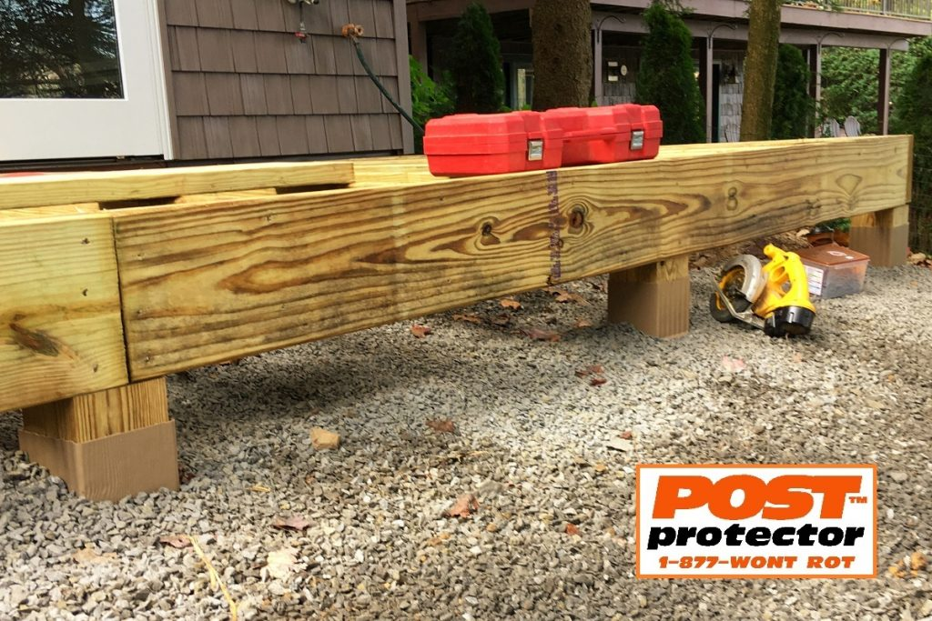 post sleeves for deck posts