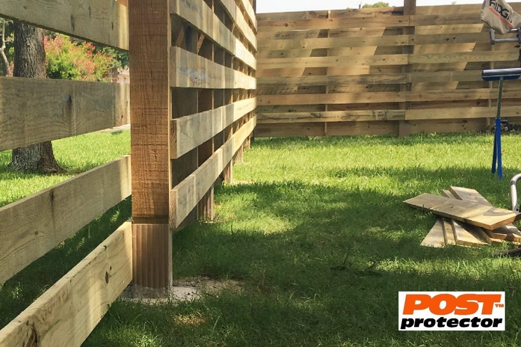 Post Protector 4x4 fence post sleeve
