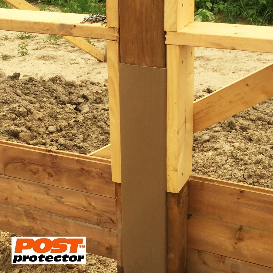 Post Protector 6x6 post sleeve for pole barns