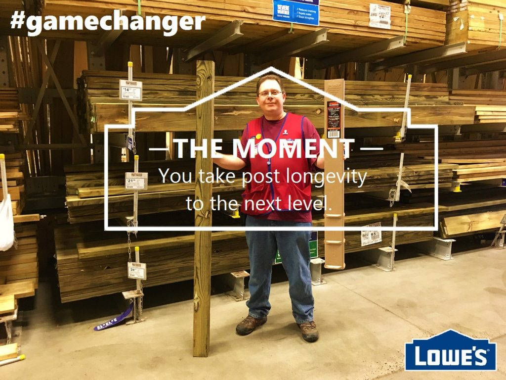 Post Protector at LOWES game changer